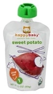 HappyBaby - Organic Baby Food Stage 1 Starting Solids Sweet Potato - 3.5 oz.