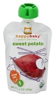 Image of HappyBaby - Organic Baby Food Stage 1 Starting Solids Sweet Potato - 3.5 oz.