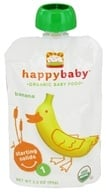 HappyBaby - Organic Baby Food Stage 1 Starting Solids Banana - 3.5 oz. - $1.38