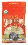 Lundberg - Organic Short Grain Brown Rice - 32 oz., from category: Health Foods