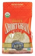 Lundberg - Organic Short Grain Brown Rice - 32 oz. by Lundberg