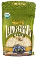 Lundberg - Organic Long Grain Brown Rice - 32 oz. (073416197640)