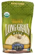 Image of Lundberg - Organic Long Grain Brown Rice - 32 oz.