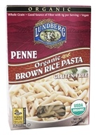 Image of Lundberg - Organic Penne Brown Rice Pasta - 12 oz.