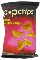 Popchip - Tortilla Chips All Natural Salsa - 3.5 oz. (082666320036)