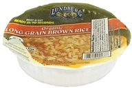 Image of Lundberg - Organic Long Grain Brown Rice Bowl - 7.4 oz.