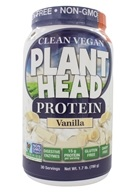 Genceutic Naturals - Plant Head Protein Vanilla - 1.7 lbs.