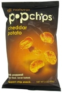 Image of Popchip - Potato Chips All Natural Cheddar - 3 oz.