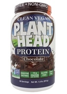 Genceutic Naturals - Plant Head Protein Chocolate - 1.8 lbs.