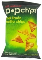 Popchip - Tortilla Chips All Natural Chili Limon - 3.5 oz. (082666320005)