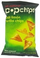 Popchip - Tortilla Chips All Natural Chili Limon - 3.5 oz., from category: Health Foods