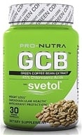 Pro Nutra - Green Coffee Bean Extract - 30 Vegetarian Capsules - $39.99