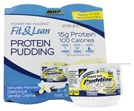Image of MHP - Fit & Lean Power Pak Pudding Vanilla - 4.5 oz.