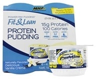 MHP - Fit & Lean Power Pak Pudding Vanilla - 4.5 oz. (666222091716)