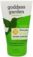 Goddess Garden - Sunny Body Natural Sunscreen 30 SPF - 3.4 oz. (898062001383)