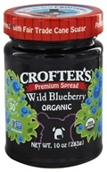 Crofter's Organic - Premium Spread Organic Wild Blueberry - 10 oz., from category: Health Foods