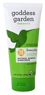 Goddess Garden - Everyday Natural Sunscreen 30 SPF - 6 oz. Formerly Goddess Garden - Sunny Body Natural Sunscreen