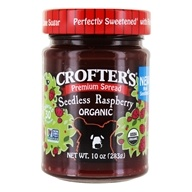 Crofter's Organic - Premium Spread Organic Raspberry - 10 oz., from category: Health Foods