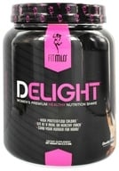 FitMiss - Delight Women's Premium Healthy Nutrition Shake Chocolate Delight - 1.2 lbs. by FitMiss