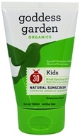 Goddess Garden - Sunny Kids Natural Sunscreen 30 SPF - 3.4 oz., from category: Personal Care