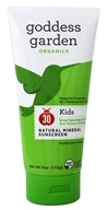 Goddess Garden - Sunny Kids Natural Sunscreen 30 SPF - 6 oz.