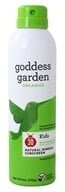 Goddess Garden - Sunny Kids Natural Sunscreen Continuous Spray 30 SPF - 6 oz. by Goddess Garden