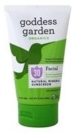 Goddess Garden - Sunny Face Natural Sunscreen 30 SPF - 3.4 oz. (898062001482)