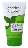 Goddess Garden - Facial Natural Sunscreen 30 SPF - 3.4 oz. Formerly Goddess Garden - Sunny Face Natural Sunscreen