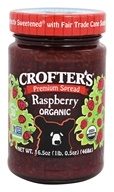 Crofter's Organic - Premium Spread Organic Raspberry - 16.5 oz., from category: Health Foods