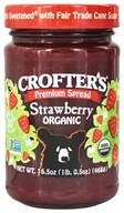 Image of Crofter's Organic - Premium Spread Organic Strawberry - 16.5 oz.