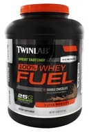 Twinlab - 100% Whey Fuel Double Chocolate - 5 lbs. by Twinlab