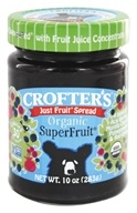 Crofter's Organic - Just Fruit Spread Organic Superfruit - 10 oz., from category: Health Foods