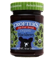Crofter's Organic - Just Fruit Spread Organic Blackberry - 10 oz. (067275000333)