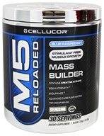 Cellucor - M5 Reloaded Mass Builder Blue Raspberry 30 Servings - 1.65 lbs. by Cellucor