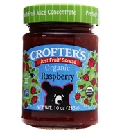 Crofter's Organic - Just Fruit Spread Organic Raspberry - 10 oz. (067275000326)