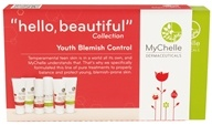Image of MyChelle Dermaceuticals - Hello Beautiful Trial Set Collection Youth Blemish Control - CLEARANCE PRICED