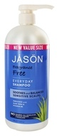 JASON Natural Products - Shampoo Every Day Fragrance Free - 32 oz.
