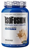 Gaspari Nutrition - IsoFusion Premium Whey Isolate Vanilla Ice Cream - 1.6 lbs. by Gaspari Nutrition
