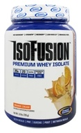 Gaspari Nutrition - IsoFusion Premium Whey Isolate Orange Cream - 1.6 lbs.