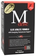 Dream Brands - M Drive Elite Energizing Testosterone Booster - 90 Vegetarian Capsules (852388001823)