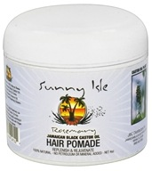 Sunny Isle - Jamaican Black Castor Oil Hair Pomade Rosemary - 4 oz., from category: Personal Care