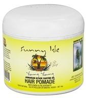 Sunny Isle - Jamaican Black Castor Oil Hair Pomade Ylang Ylang - 4 oz., from category: Personal Care