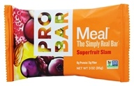 Pro Bar - Whole Food Meal Bar Superfruit Slam - 3 oz., from category: Nutritional Bars