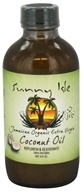 Sunny Isle - Jamaican Organic Extra Virgin Coconut Oil - 4 oz., from category: Personal Care