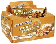 Pure Protein - High Protein Bar Peanut Marshmallow Eclipse - 6 x 1.76 oz. Bars
