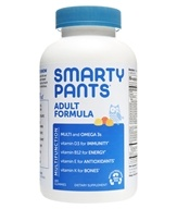 Image of SmartyPants - All-in-One Multivitamin + Omega 3 + Vitamin D For Adults - 180 Gummies