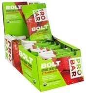 Image of Pro Bar - Bolt Organic Energy Chews Strawberry - 2.1 oz.