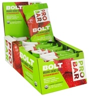 Pro Bar - Bolt Organic Energy Chews Strawberry - 2.1 oz.