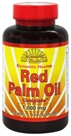 Dynamic Health - Red Palm Oil Complete 1000 mg. - 90 Softgels - $10.95