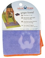 Natural Fitness - Yoga Hand Towel Lavender by Natural Fitness